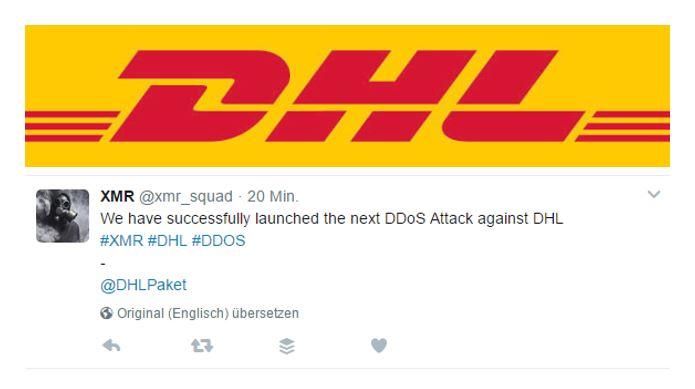 Erneute DDoS Attacke auf DHL: Kunden melden bereits Ausfälle