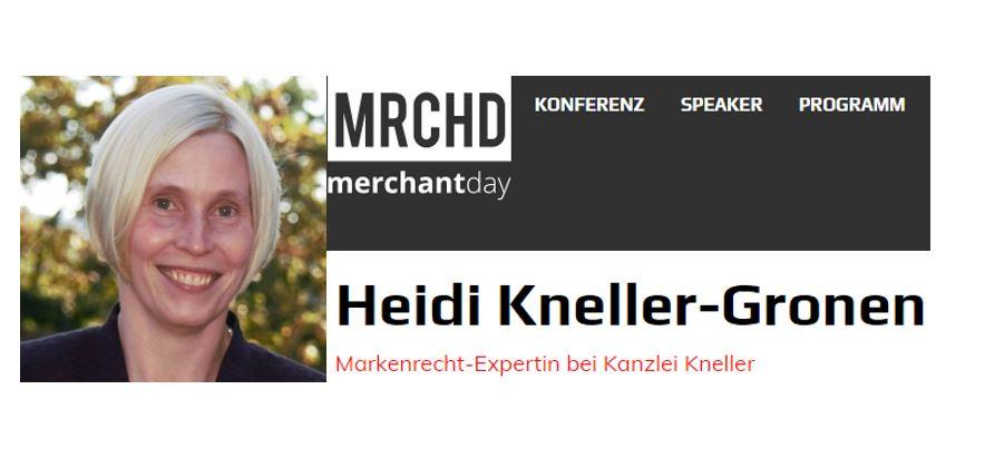 Heidi Kneller-Gronen als Speakerin auf dem merchantday – Die Marktplatz-Konferenz
