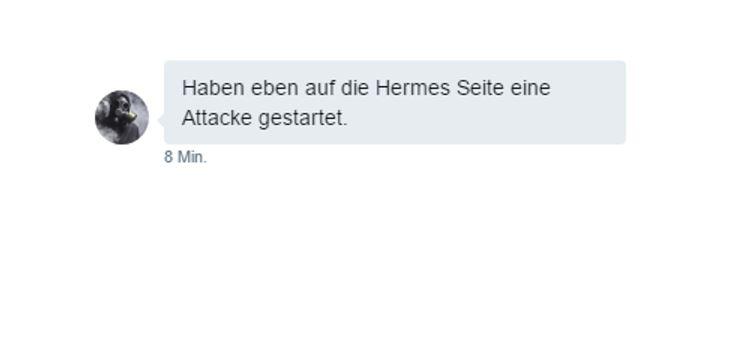 Keine Ruhe vor XMR-Squad: Attacke auf myhermes.de angekündigt