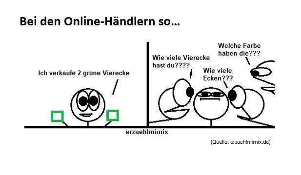 Händler-Alltag in 2 Bildern erklärt..