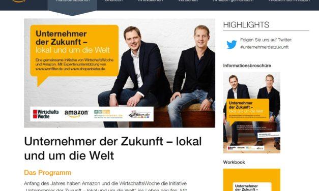 Interview mit Jochen Hastedt aus Amazons 'Unternehmer der Zukunft'
