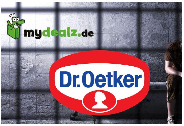 EXKLUSIV: Dr.Oetker & MyDealz im juristischen Klinsch.