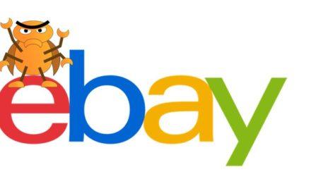 Entwarnung: eBay's Impressumsanzeige nur ein Bug