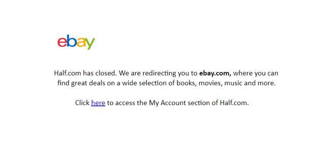 eBay schließt den Marktplatz half.com