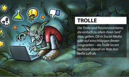 Typisierung von Fake Bewertungen: Troll oder Scherzkeks, wer ist euch lieber?