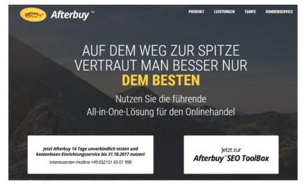 [WERBUNG] Afterbuy | All-in-One-Lösung für den Onlinehandel