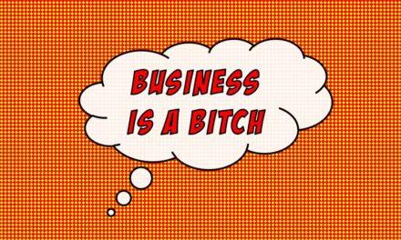 Das Geschäft ist rückläufig: Und ihr wundert euch, dass nichts geht…