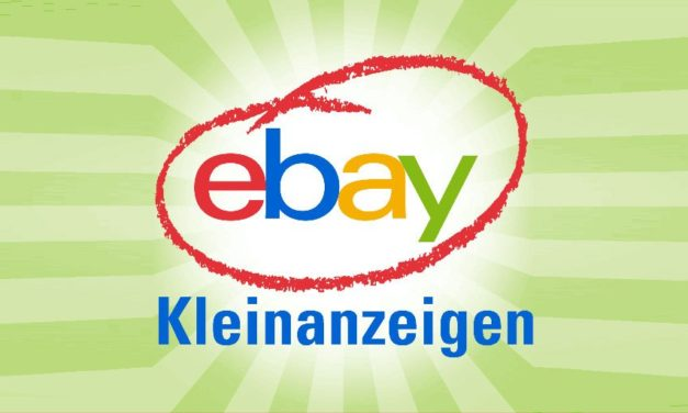 eBay Kleinanzeigen: Los geht's!