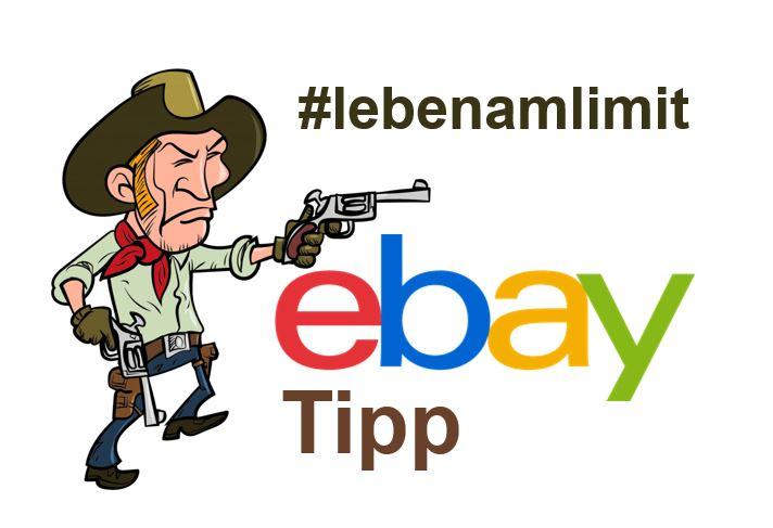 eBay Tipp: #lebenamlimit – Bild & Rufnummer in den Rechtlichen Informationen