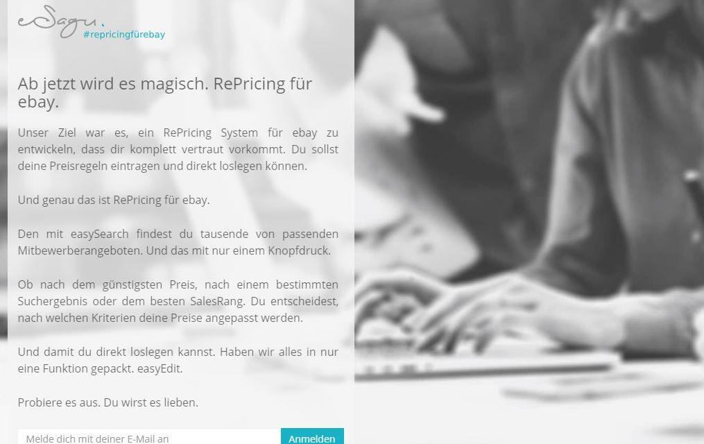 esagu.de veröffentlicht eine Preisoptimierungs-Software für eBay