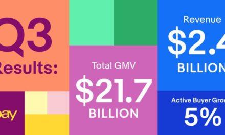 eBay Zahlen: Gutes Q3 2017 – Erwartungen der Analysten fast übertroffen