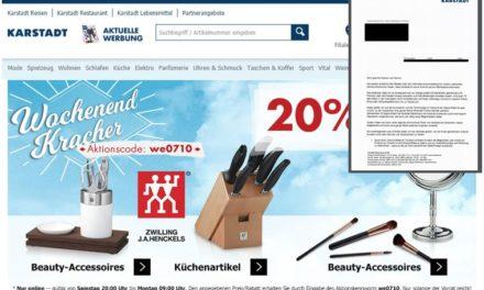 Exklusiv: Karstadt.de Digitalisierungsstrategie – Marktplatz-Ausrichtung