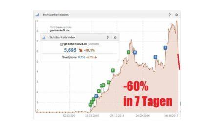 Uwe Hamann: -60% in 7 Tagen! SEO ist Scheiße…