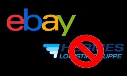 eBay: Hermes bald keine schnelle Versandmethode mehr