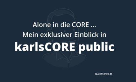 Brancheninterna: Mal wieder Martin von der Hocht und dieses Mal gegen Karl Kratz