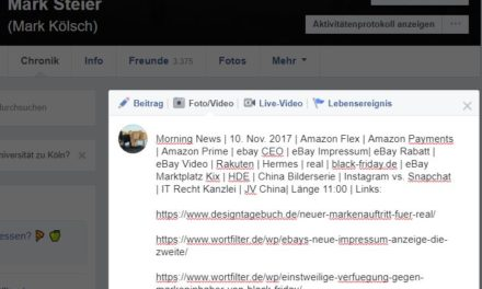 Morning News | 10. Nov. 2017 | Amazon Flex | Amazon Payments…