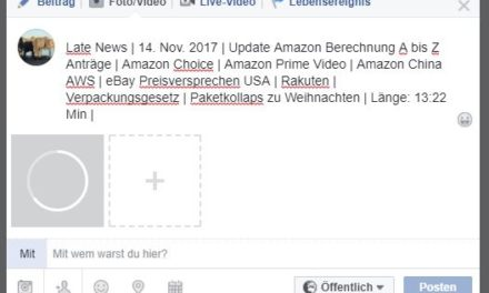 Late News | 14. Nov. 2017 | Update Amazon Berechnung A bis Z Anträge | Amazon Choice