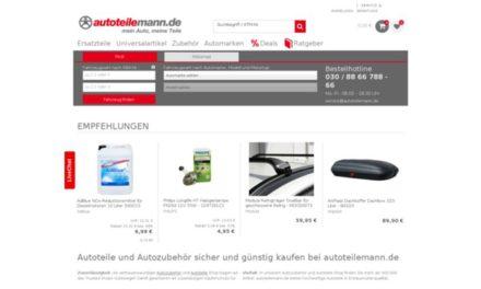 Alle Angebote offline: Was ist los mit der Autoteilemann GmbH?