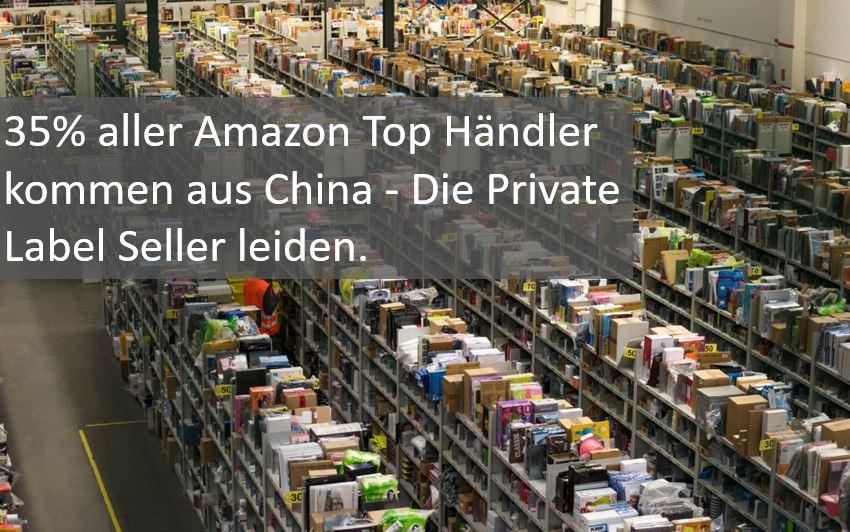 Ein Drittel aller Amazon Händler sind Chinesen. Und den Private Label Sellern geht es an den Kragen.