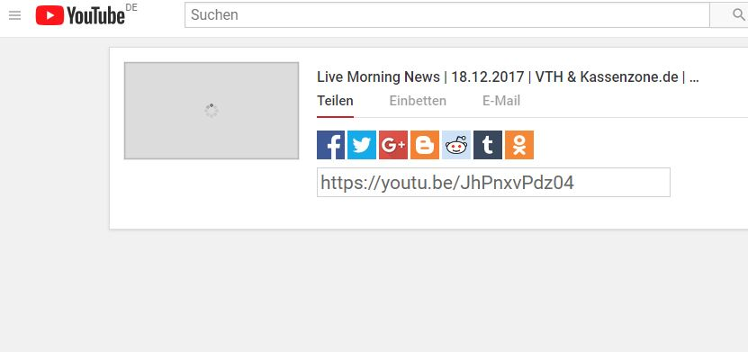 Live Morning News | 18.12.2017 | VTH & Kassenzone.de | Amazon DE