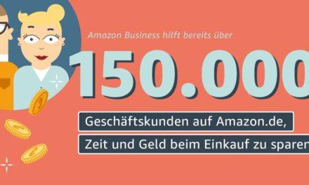 Wie viele Geschäftskunden nutzen Amazon Business in Deutschland?