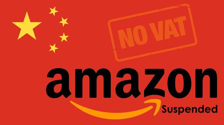 Amazon: Finanzamt beschlagnahmt Lager und Guthaben großer China-Händler
