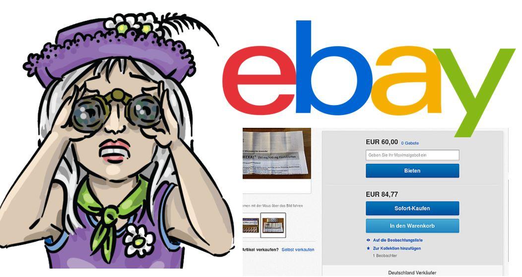eBay: Beobachter werden nicht mehr dargestellt