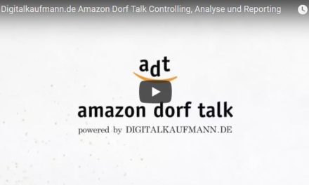 Amazon Dorf Talk – Controlling, Analyse und Reporting