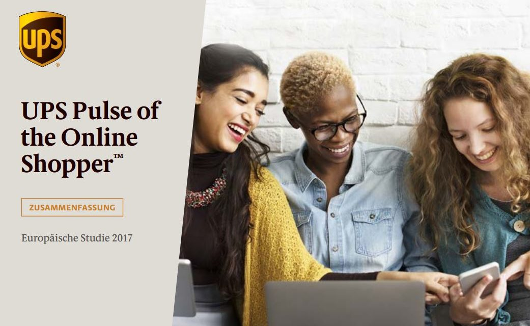 Fette UPS Studie: UPS Pulse of the Online Shopper™