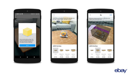 eBay erweitert App um AR Feature in den USA