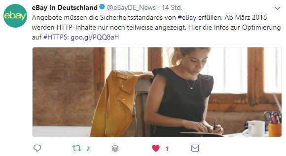 eBay Reminder: Artikelbeschreibungen werden nur noch als Ausschnitt angezeigt