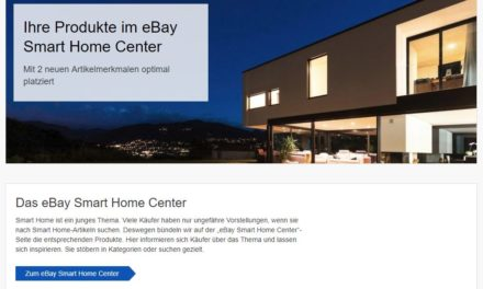 How to: So listet ihr in der eBay Smart Home Center