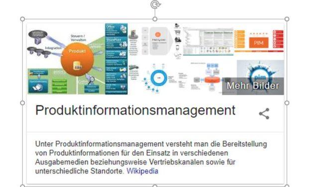 Was ist das? Produktinformationsmanagement (Product Information Management – PIM)