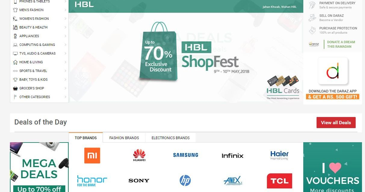 Alibaba kauft den pakistanischen Marktplatz daraz.pk