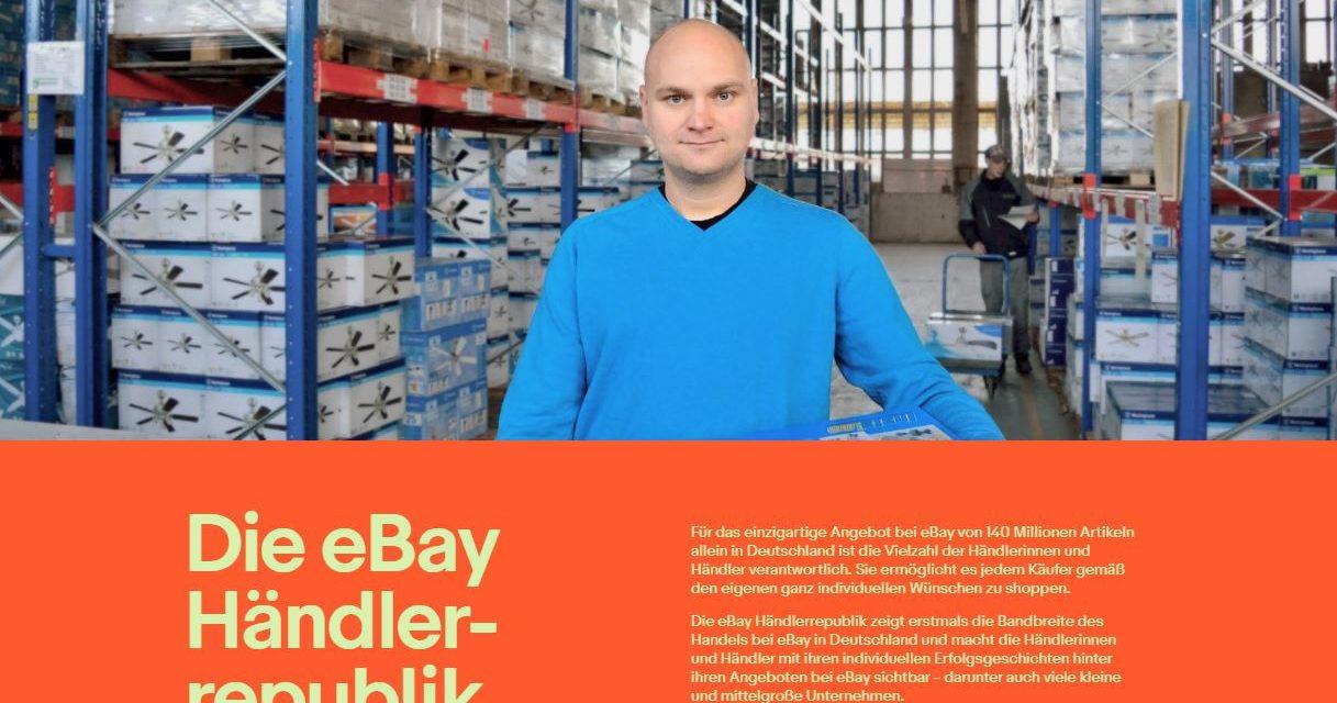 Website-Launch: eBay Händlerrepublik gibt Online-Handel in Deutschland ein Gesicht