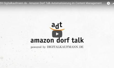 Amazon Dorf Talk: Geschwindigkeit, Skalierbarkeit und Automatisierung im Content Management