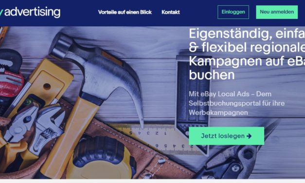 Ab gestern jetzt auch in De verfügbar: eBay Local Services Ads