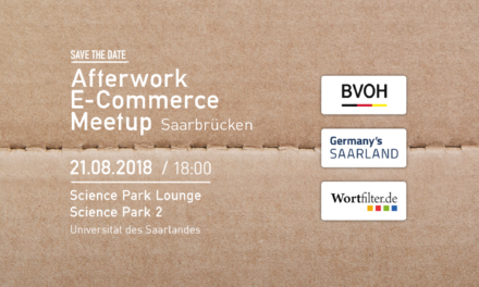 21. August: Afterwork E-Commerce Meetup in Saarbrücken