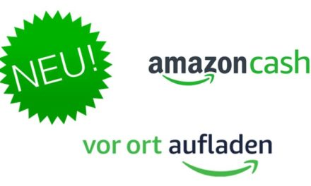 Amazon vor Ort aufladen: Amazon Cash in _De gestartet