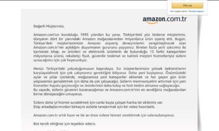 Amazon Türkei:  Nun ist Amazon in der Türkei gestartet