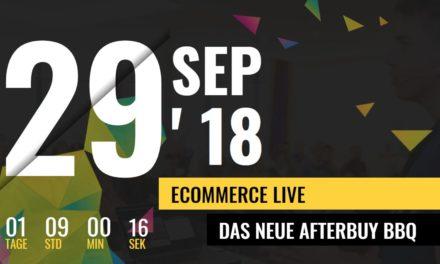 Afterbuy meldet: Die Ecommerce Live ist ausverkauft