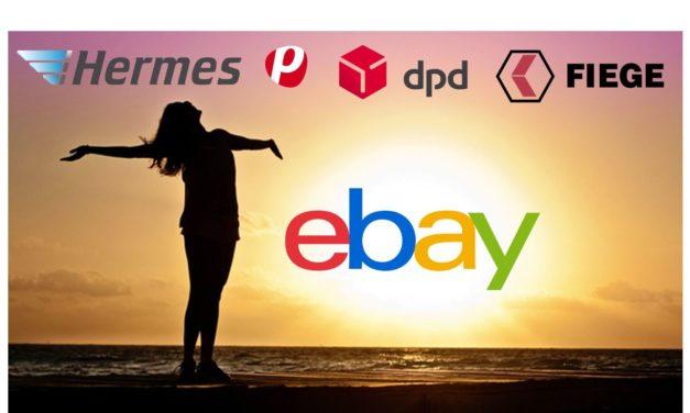 Bääähm! Fulfillment by eBay! Und dazu eine Logistiklösung für kleinere Händler.