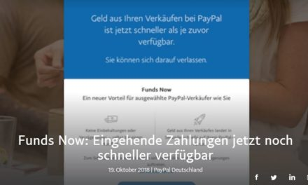 Funds Now: Eingehende Zahlungen jetzt noch schneller verfügbar