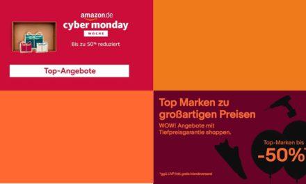 Cyber Week: Nur Verarsche bei Amazon und eBay [Werbung]