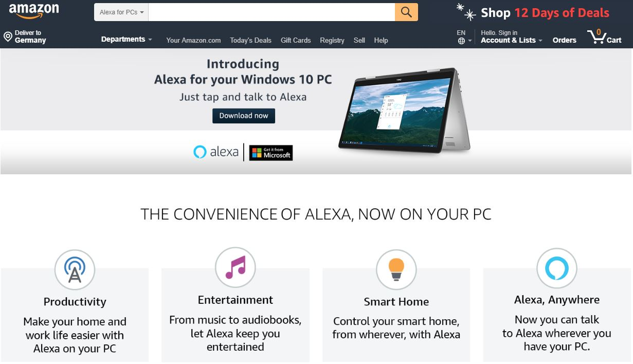 alexa-pc - Wortfilter de Der Marktplatz Blog
