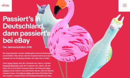 eBay Retail Report: Das war das Jahr 2018