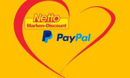 Vorreiter im LEH: Ab sofort bundesweit bei Netto Marken-Discount mit PayPal bezahlen