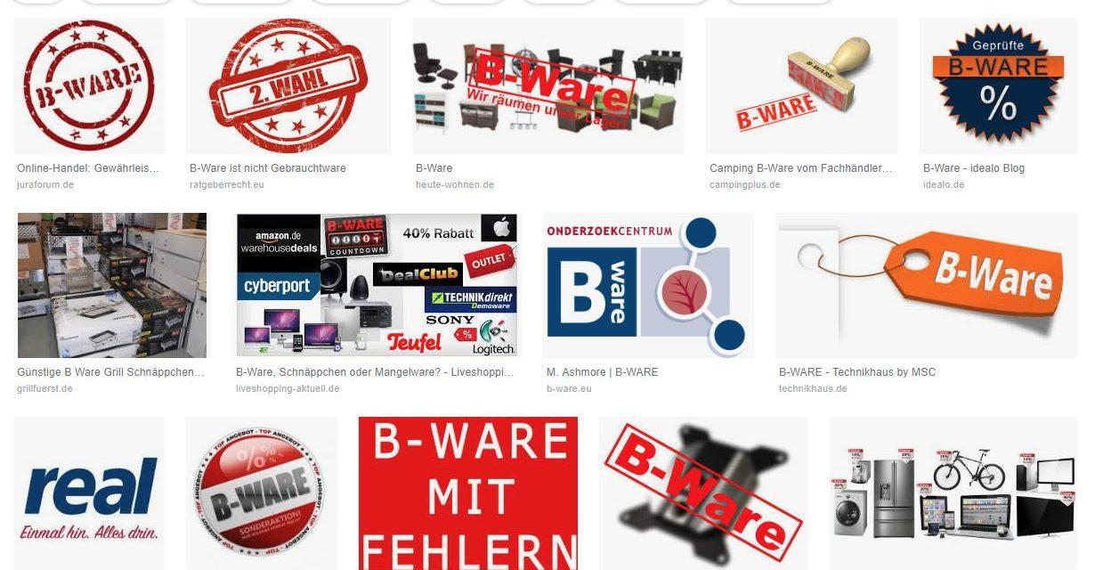 B-Ware richtig verkaufen – Eine Herausforderung für viele Onlinehändler [WERBUNG]