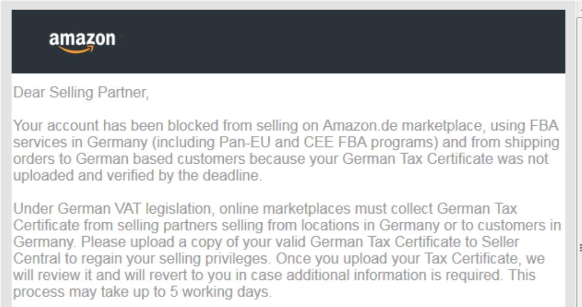 Amazon suspendiert China Händler & blockiert Warenbestände