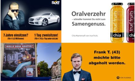 Marketing: Scheiss was auf Political Correctness